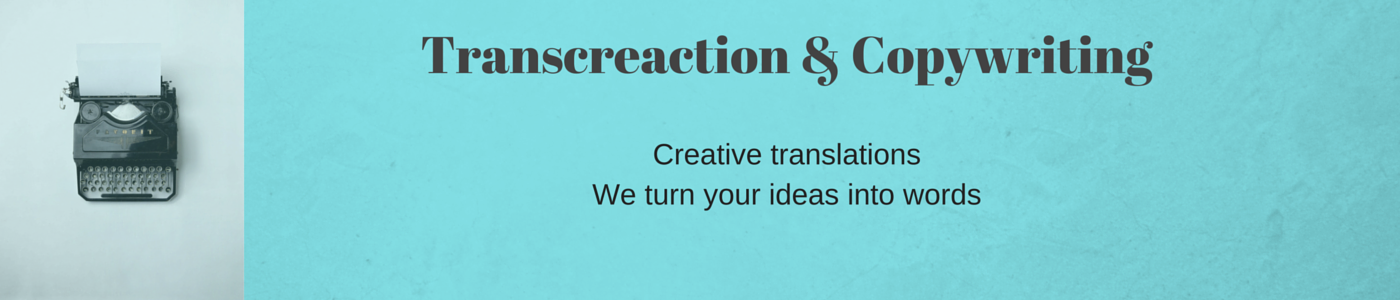 Transcreaction-Copywriting